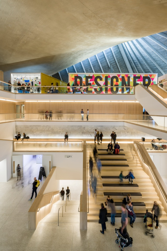 Paul Chipperfield gives the new Design Museum the thumbs up – finding it a most inspirationalplace