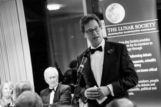 Nick Clegg speaks at Lunar Society annualdinner